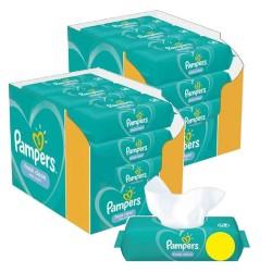 Maxi giga pack 312 Lingettes Bébés Pampers Fresh Clean sur Choupinet