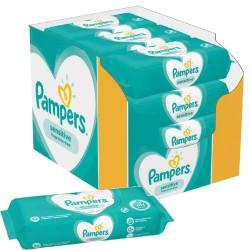 Pack jumeaux 936 Lingettes Bébés Pampers Sensitive sur Choupinet