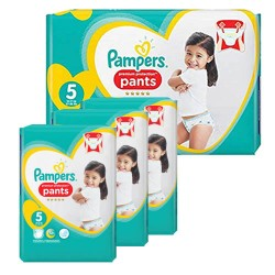 Pack 80 Couches Pampers Premium Protection Pants taille 5 sur Choupinet