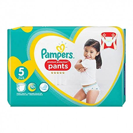 Pack 40 Couches Pampers Premium Protection Pants taille 5 sur Choupinet
