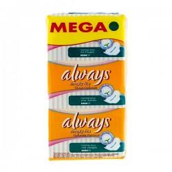 36 Serviettes hygiéniques Always Simply Fits taille normal plus sur Choupinet