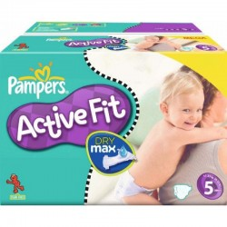 Pack 37 Couches Pampers Active Fit taille 5 sur Choupinet