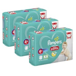 Maxi giga pack 350 Couches Pampers Baby Dry Pants taille 4+ sur Choupinet