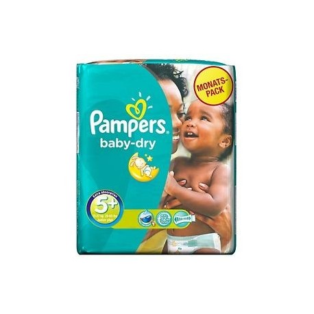 43 Couches Pampers Baby Dry Taille 5 Pas Cher Sur Choupinet