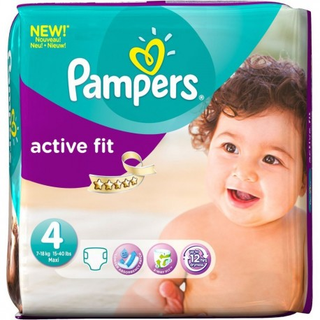 78 couches pampers active fit taille 4 en promotion sur choupinet - Couches pampers pas cher taille 4 ...