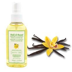 Huile de beauté à la vanille 100% pure et végétale sur Choupinet