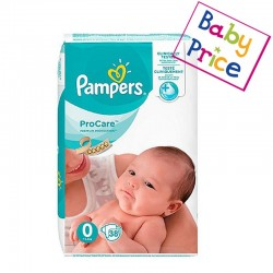 Pack 38 Couches Pampers ProCare Premium protection taille 0 sur Choupinet