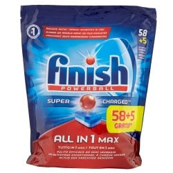 Finish Tabs 63 Powerball Super Charged Special Graisses All in 1 Max (1027 gr) sur Choupinet
