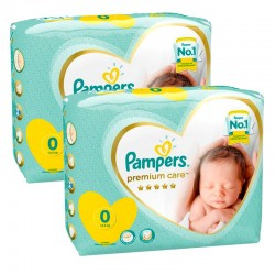 Pack 60 Couches Pampers New Baby Premium Care taille 0 sur Choupinet