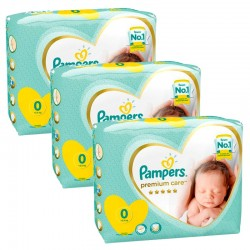 Mega Pack 90 Couches Pampers New Baby Premium Care taille 0 sur Choupinet