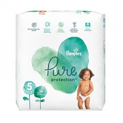 Pack 24 Couches Pampers Pure Protection taille 5 sur Choupinet