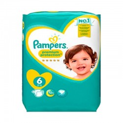 Mega pack 120 Couches Pampers New Baby Premium Protection taille 6 sur Choupinet