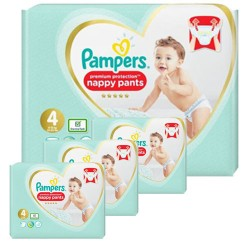 Maxi giga pack 376 Couches Pampers Premium Protection Pants taille 4 sur Choupinet