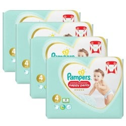 Maxi mega pack 423 Couches Pampers Premium Protection Pants taille 4 sur Choupinet