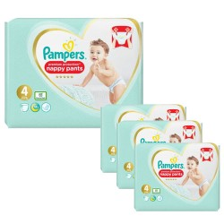 Maxi mega pack 470 Couches Pampers Premium Protection Pants taille 4 sur Choupinet