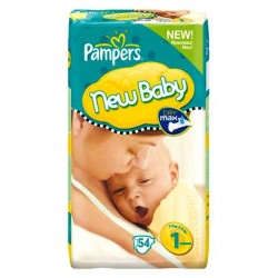 Pack 22 Couches Pampers Premium Protection taille 1 sur Choupinet