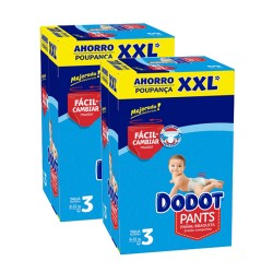 Maxi mega pack 444 Couches Dodot Pants taille 3