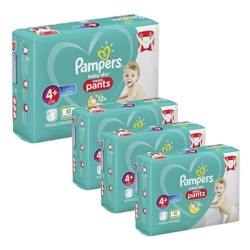 Mega pack 164 Couches Pampers Baby Dry Pants taille 4+ sur Choupinet