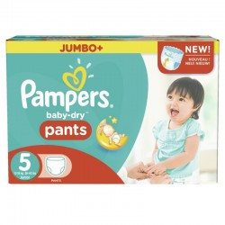 Maxi mega pack 480 Couches Pampers Baby Dry Pants taille 5 sur Choupinet
