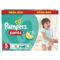 Pack jumeaux 672 Couches Pampers Baby Dry Pants taille 5 sur Choupinet