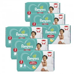 Giga pack 266 Couches Pampers Baby Dry Pants taille 3 sur Choupinet
