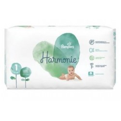 Pack 68 Couches Pampers Harmonie taille 1 sur Choupinet