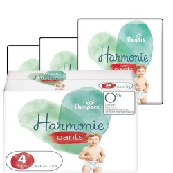 Mega pack 174 Couches Pampers Harmonie Pants taille 4 sur Choupinet