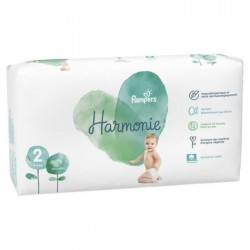 Pack 78 Couches Pampers Harmonie taille 2 sur Choupinet