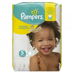 Pack 20 Couches Pampers Premium Protection taille 5