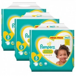 Giga pack 200 Couches Pampers Premium Protection taille 5