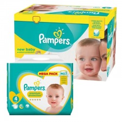 Pack 72 Couches Pampers Premium Protection taille 4 sur Choupinet