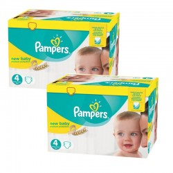 Mega pack 120 Couches Pampers Premium Protection taille 4 sur Choupinet