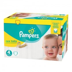 Mega pack 144 Couches Pampers Premium Protection taille 4 sur Choupinet