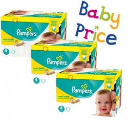 Mega pack 192 Couches Pampers Premium Protection taille 4 sur Choupinet