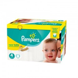 Maxi giga pack 360 Couches Pampers Premium Protection taille 4 sur Choupinet