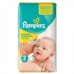 Pack 31 Couches Pampers Premium Protection taille 2 sur Choupinet