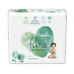 Pack 22 Couches Pampers Pure Protection taille 3 sur Choupinet