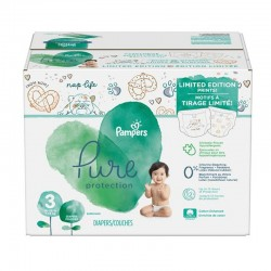 Mega pack 110 Couches Pampers Pure Protection taille 3 sur Choupinet