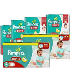 Maxi giga pack 330 Couches Pampers Baby Dry Pants taille 4 sur Choupinet