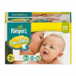 288 Couches Pampers Baby Dry taille 2 sur Choupinet