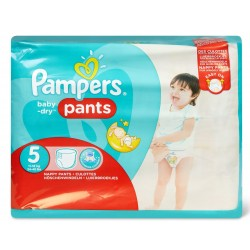 Pack 96 Couches Pampers Baby Dry Pants taille 5 sur Choupinet