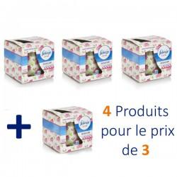 4 Bougies Parfumées Febreze Flower Bloom - 4 au prix de 3 sur Choupinet