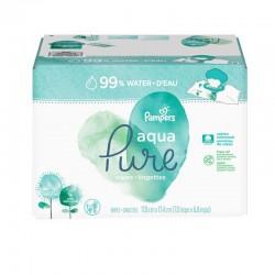348 384 Lingettes Bébés Pampers Aqua Pure sur Choupinet
